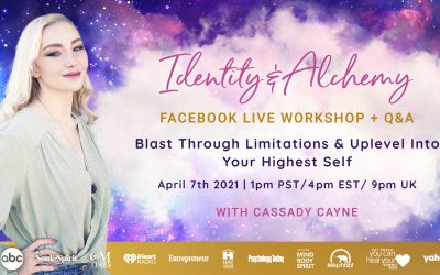 Identity And Alchemy – Attend My FREE Facebook Live